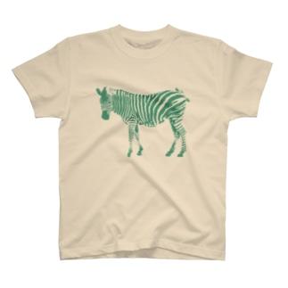シマウマb T-shirts