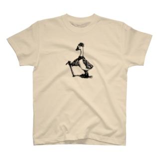 『原始アヒルのMr.copapot』 T-shirts