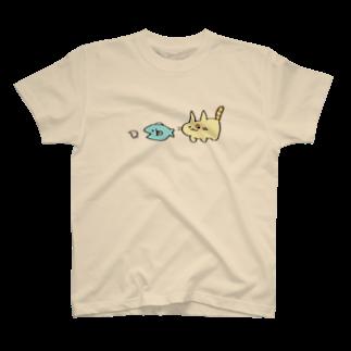 ヒトデ屋の食物連鎖 T-shirts