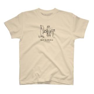 『頭が熱いです(線画)』淡色T T-shirts