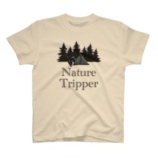 ゆるTショップのNature Tripper Tシャツ T-Shirt