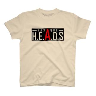 基本のH.E.A.D.Sロゴ T-shirts
