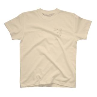 Boy meets Penguin. T-shirts
