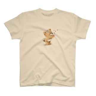 """むちっくま""""chu"""" T-shirts"""