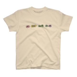 カラフルなゾウリムシ T-shirts