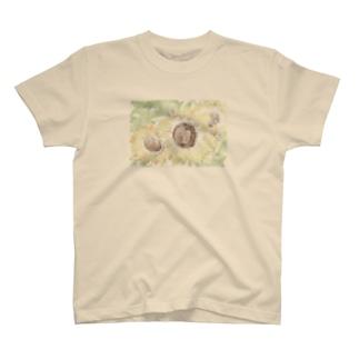ひまわりの夏 T-shirts