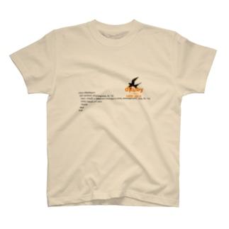 dRuby the origin/method missing編 T-shirts