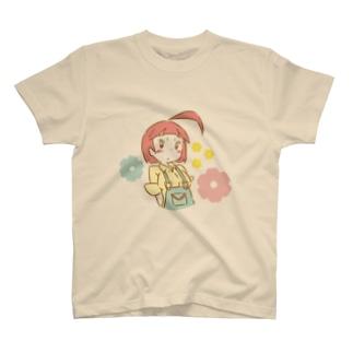 フラワー T-shirts