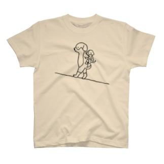 母の日/父の日ドッグ T-shirts