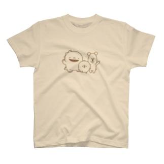 ひよこ、くま、イグアナ T-Shirt