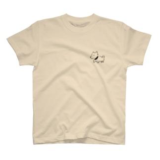 ちょこんと柴犬 T-shirts