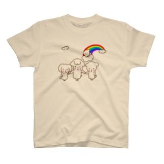 見守りわんこ T-shirts