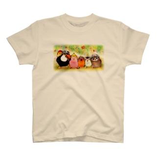 ハミングピッピのsmile T-shirts