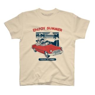 Tシャツ ENJOY SUMMER カラー T-shirts