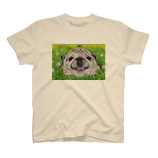 ハミングピッピのぼく、パグ! T-shirts