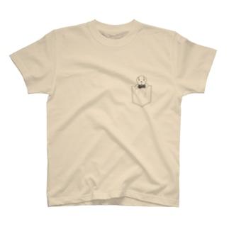 ポケット柄 マゴ T-shirts