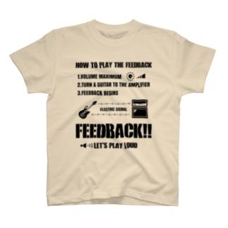FEEDBACK T-shirts