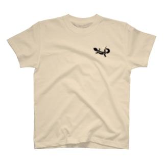 でぐんちゅのレオパードゲッコー T-shirts