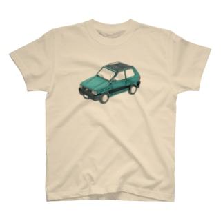 青緑色の車 T-shirts