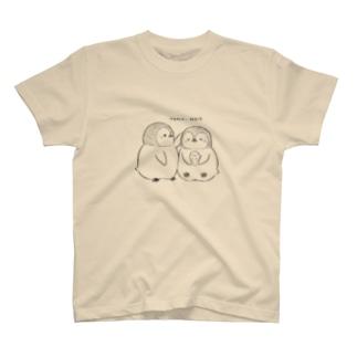 手描きペンギン T-shirts