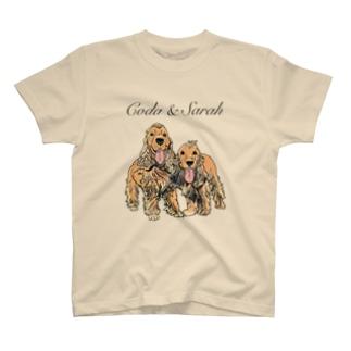 コーダとサラちゃん T-shirts
