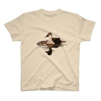 アキヅキのカルガモ(オレンジ) T-Shirt