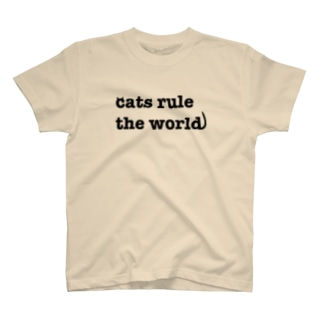 cats rule the world T-shirts