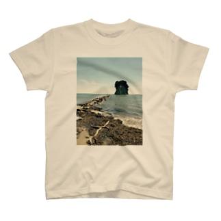 晴れの見附島 T-shirts