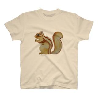 ❤️シマリスだわっ💕🐿 T-shirts