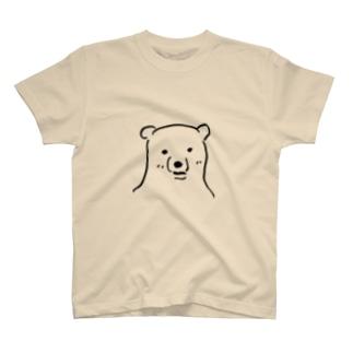 ギザギザ(しろくま) T-shirts