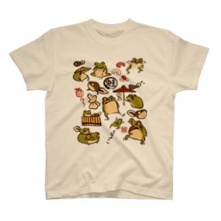 蛙とおたま T-shirts