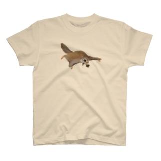 家にいそぐエゾモモンガ T-shirts