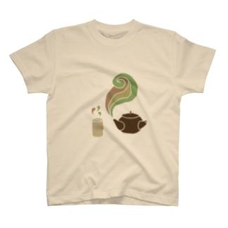 お茶 T-shirts