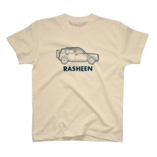 英語でラシーン(ネイビー) T-Shirt