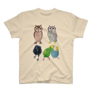 とりいろいろとり T-Shirt