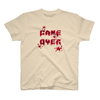 GAME OVER(Blood) T-shirts