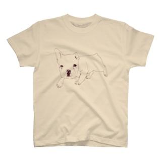 フレンチブル T-shirts