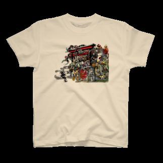 Studio MOONの百鬼夜行 T-shirts