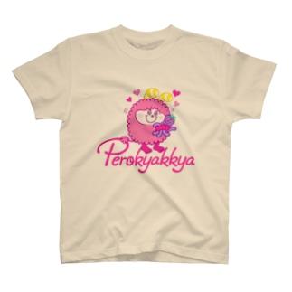 ペロキャッキャ Tシャツ
