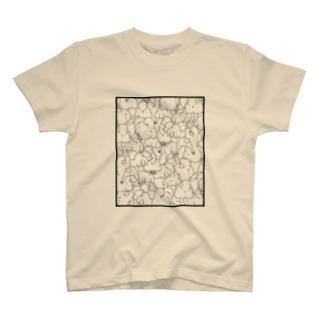 SHIBASHIRI T-shirts