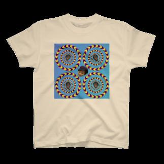 まっちゃんのブタ屋のダブルハムブラザーズグッズ T-shirts