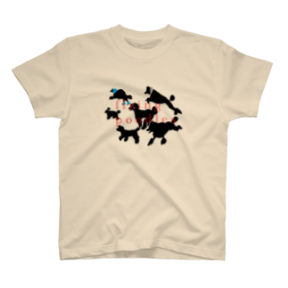 rocca_rocca67のflying poodles T-shirts