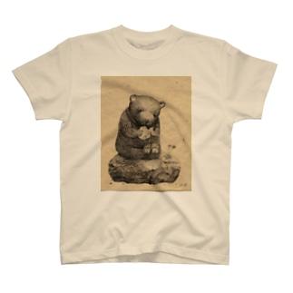きぐるみ熊 T-shirts
