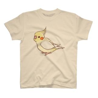オカメインコ(ルチノー) T-shirts