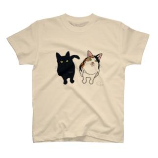 タラ&ウメちゃん😝🎈💕 T-shirts