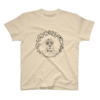 シャッフル T-shirts