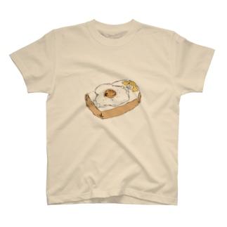 おやすみトースト Tシャツ