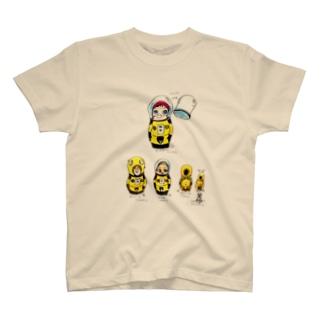 ヤノベケンジ《サン・チャイルド》(マトリョーシカシリーズ)  T-shirts