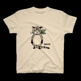 半田の「栗ネコ」 T-shirts