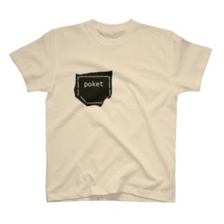 ポッケ T-shirts
